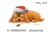 GIORDANO, CHRISTMAS ANIMALS, WEIHNACHTEN TIERE, NAVIDAD ANIMALES, paintings+++++,USGI2215,#XA# dogs,puppies