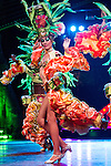 HAVANA, CUBA - DECEMBER 30: Dancers perform at the Tropicana Club in Havana, Cuba on December 30, 2013.  The cabaret and club, established in 1938, had an impact in spreading Cuban culture internationally.