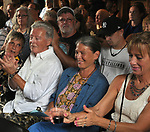 Faces in the audience at Nightcap Entertainments's Triple Album Release Party, held in the Kiersted Dutch Barn, in Saugerties,NY, on Saturday, August 12, 2017. Photo by Jim Peppler. Copyright/Jim Peppler-2017.