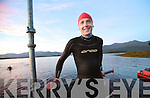 Dawn swim...Tim Horgan from Killarney who won his category in the Killarney Hardman, at the weekend, which included a 3.8Km swim at dawn on Lough Lein, Killarney, 180Km cycle on the Ring of Kerry and 42km run in Killarney National Park.Photo:Valerie O'Sullivan