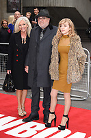 Elaine, Ray and Ellie Winstone<br /> at the &quot;Jawbone&quot; premiere held at the bfi, South Bank, London. <br /> <br /> <br /> &copy;Ash Knotek  D3263  08/05/2017