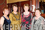 ENJOYING: Geraldine McCarthy, Mary McCarthy, Noreen Riordan and Lil O'Keeffe enjoying the Gneeveguilla GAA social in the Killarney Avenue Hotel on Saturday night.   Copyright Kerry's Eye 2008