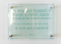 Photo of the Rose Hills Foundation Student Activities Center in the Johnson Student Center, 2013.<br />