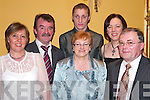 GREAT: Having a great night at the Clounmacon annual social in the Listowel Arms Hotel on Saturday night were front l-r: Christine McElligott, Pat and Breda Lyons. Back l-r: Paddy and Christopher McElligott with Grainne Mannix, all from Listowel.   Copyright Kerry's Eye 2008