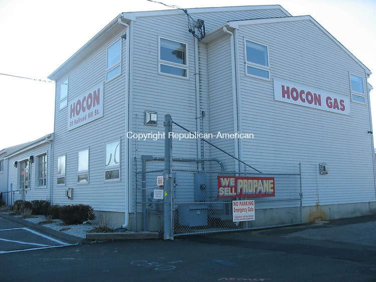 WATERBURY, CT - 09 January 2014 - 010914DK01 -- Hocon Gas Inc., which has a Waterbury office seen here Thursday at 20 Railroad Hill St., says that propane supplies are tight but customers have not been affected. David Krechevsky Republican-American