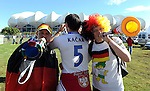 FUDBAL, PORT ELIZABETH, 18. Jun. 2010. - Navijaci. Utakmica 2. kola grupe D Svetskog prvenstva u fudbalu izmedju Nemacke i Srbije. Foto: Nenad Negovanovic
