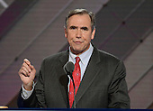 United States Senator Jeff Merkley (Democrat of Oregon) makes remarks at the 2016 Democratic National Convention at the Wells Fargo Center in Philadelphia, Pennsylvania on Monday, July 25, 2016.<br /> Credit: Ron Sachs / CNP<br /> (RESTRICTION: NO New York or New Jersey Newspapers or newspapers within a 75 mile radius of New York City)