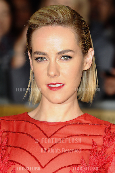"Jena Malone arriving for the World Premiere of ""The Hunger Games: Catching Fire"" in Leicester Square, London. 11/11/2013 Picture by: Steve Vas / Featureflash"