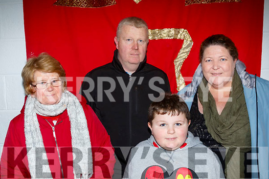 Mary, Diarmuid, Catherine&Cormac Keane from Brandon having a laugh at the Panto on Saturday night.