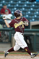 Zack MacPhee #2 of the Arizona State Sun Devils plays against Northern Illinois University in the annual Coca-Cola Classic at Surprise Stadium on March 4, 2011 in Surprise, Arizona..Photo by:  Bill Mitchell/Four Seam Images.