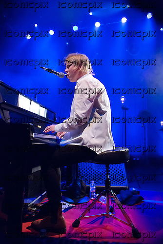 TOM ODELL - performing live at Shepherds Bush Empire in London UK - 23 October 2013.  Photo credit: Iain Reid/IconicPix