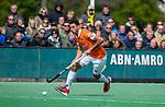 BLOEMENDAAL - Glenn Schuurman (Bldaal)   tijdens de hoofdklasse competitiewedstrijd hockey heren,  Bloemendaal-Den Bosch (2-1) COPYRIGHT KOEN SUYK
