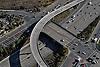 Aerial view of  San Diego Freeway System