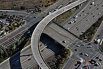 Aerial view of  San Diego Freeway System