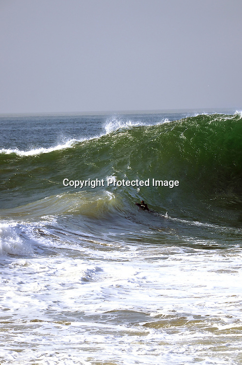 Stock Photo of a Storm Wave