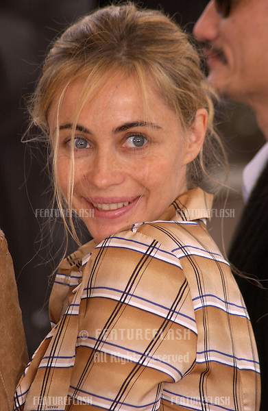 French actress EMMANUELLE BEART at the 57th Cannes International Film Festival where she is one of the jury members..May 12, 2004
