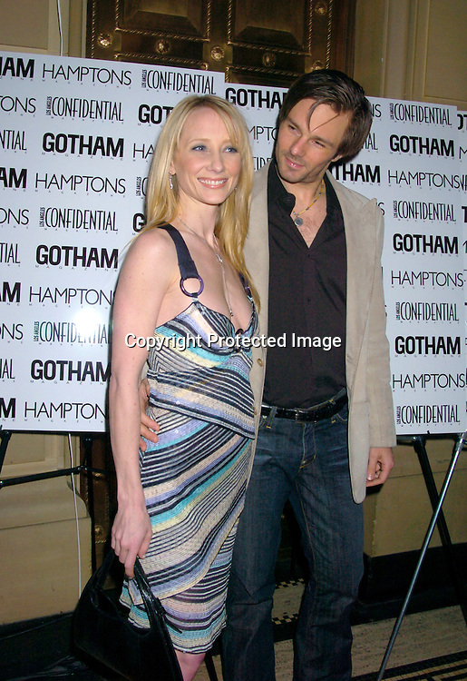 Anne Heche and husband Cooley Lafoon..at the Gotham and LA Confidential' s Magazines anniversary on February 5, 2004 at Gotham Hall. Photo by ..Robin Platzer, Twin Images