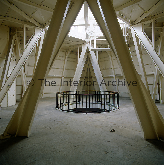 The room beneath the flagpole in Victoria Tower