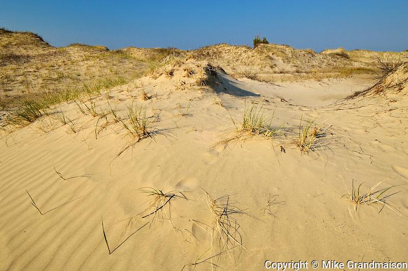 Sand dunes at Carter Bay<br /> Manitoulin Island<br /> Ontario<br /> Canada