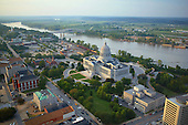 Jefferson City and Missouri River