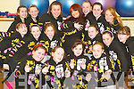 Dance school: Joanne Barry and her Listowel performance school who will perform at the Abbeygate Hotel in Tralee at 12pm this Saturday, December 13th with children from the Killorglin, Tralee, Cahirciveen and Dingle schools.   Copyright Kerry's Eye 2008