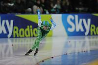 SCHAATSEN: GRONINGEN: Sportcentrum Kardinge, 18-01-2015, KPN NK Sprint, Floor van den Brandt, ©foto Martin de Jong