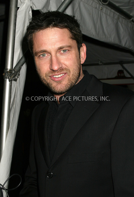 "WWW.ACEPIXS.COM . . . . . ....NEW YORK, DECEMBER 12, 2004....Gerard Butler at the New York Premiere of ""The Phantom of the Opera."" ....Please byline: ACE009 - ACE PICTURES.. . . . . . ..Ace Pictures, Inc:  ..Alecsey Boldeskul (646) 267-6913 ..Philip Vaughan (646) 769-0430..e-mail: info@acepixs.com..web: http://www.acepixs.com"