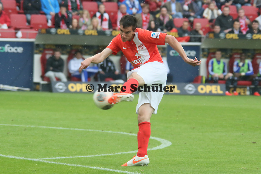 Chance fuer Christoph Moritz (Mainz) - 1. FSV Mainz 05 vs. Hamburger SV, Coface Arena, 34. Spieltag