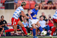 Lisle, IL. - August 1, 2015:  The Chicago Red Stars and FC Kansas City played to a 2-2 draw at Benedictine University Sports Complex.