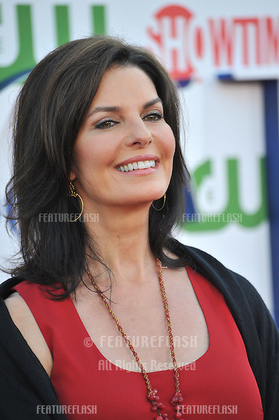 Sela Ward, star of CSI: NY, at the CBS Summer 2011 TCA Party at The Pagoda, Beverly Hills..August 3, 2011  Los Angeles, CA.Picture: Paul Smith / Featureflash