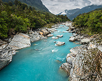 Scenic Copland River, Westland National Park, West Coast, World Heritage Area, South Westland, New Zealand