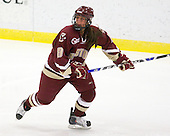 Allison Szlosek (BC - 8) - The Harvard University Crimson defeated the Boston College Eagles 5-0 in their Beanpot semi-final game on Tuesday, February 2, 2010 at the Bright Hockey Center in Cambridge, Massachusetts.