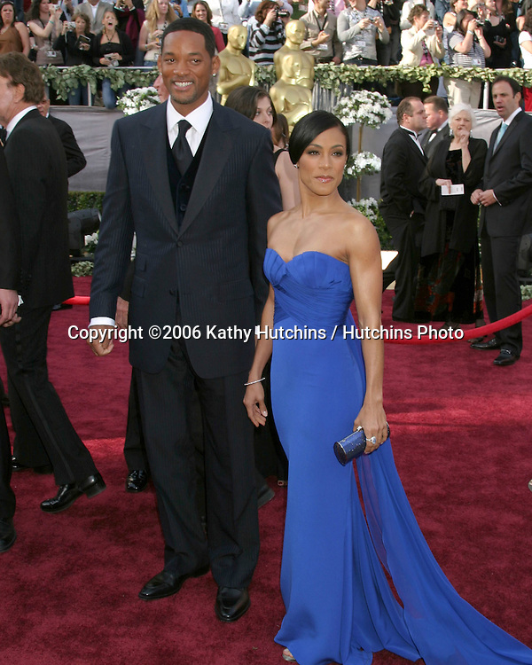 Will & Jada Smith.78th Academy Award Arrivals.Kodak Theater.Hollywood, CA.March 5, 2006.©2006 Kathy Hutchins / Hutchins Photo....