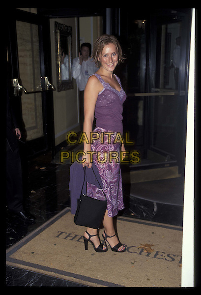 NICOLA STEPHENSON..The Dorchester..19990906..ref;8805..*RAW SCAN- photo will be adjusted for publication*..www.capitalpictures.com..sales@capitalpictures.com..©Capital Pictures