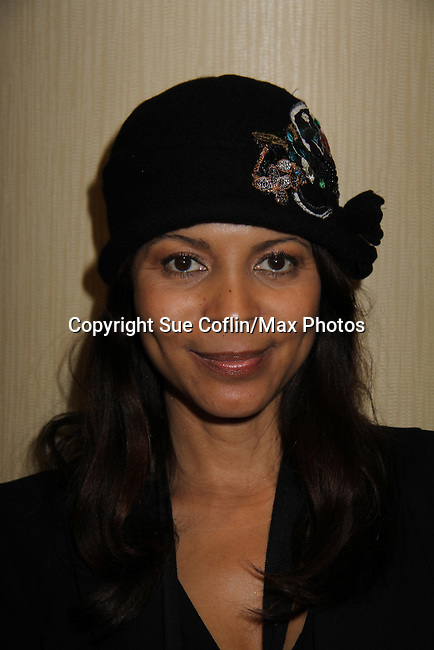 Days Renee Jones wears Jane Elissa Hat for Health benefitting Leukemia/Lymphoma at Romantic Times Booklovers Annual Convention 2011 - The Book Industry Event of the Year - April 9, 2011 at the Westin Bonaventure, Los Angeles, California for readers, authors, booksellers, publishers, editors, agents and tomorrow's novelists - the aspiring writers. (Photo by Sue Coflin/Max Photos)