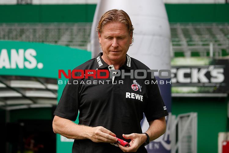 27.06.2020, wohninvest , nphgm001, WESERSTADION, Bremen, Ligaspiel, 1. Bundesliga, SV Werder Bremen vs 1. FC Koeln, im Bild Markus Gisdol (Trainer, Koeln)<br /> Foto: Joachim Sielski/Sielski-Press/Pool/gumzmedia/nordphoto<br /><br />DFL regulations prohibit any use of photographs as image sequences and/or quasi-video.<br />EDITORIAL USE ONLY<br />National and international News-Agencies OUT.