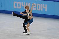 OLYMPICS: SOCHI: Iceberg Skating Palace, 09-02-2014, Figure Skating, ©foto Martin de Jong