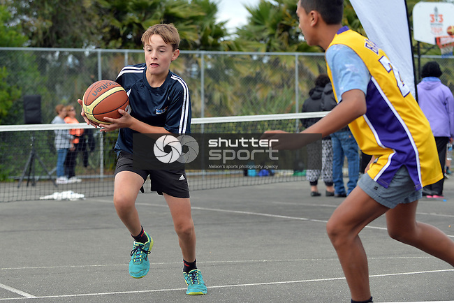3X3 National Basketball Tour, 6 February 2015, Tahunanui, Nelson, New Zealand, Photos: Barry Whitnall/shuttersport