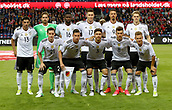 June 6th 2017, Brondby Stadium, in Brondby, Copenhagen, Denmark;  The German national team poses for a team picture before the international  match between Denmark and Germany at the Brondby Stadium  Pictured are Lars Stindl  goalkeeper Kevin Trapp, Sebastian Rudy, Antonio Rudiger, Julian Draxler, Niklas Sule, Jonas Hector, Sandro Wagner, Leon Goretzka, Matthias Ginter, Joshua Kimmich