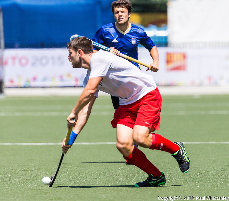USA Men vs Argentina Men at Pan Am Games 2015 in Toronto, Ontario, Canada
