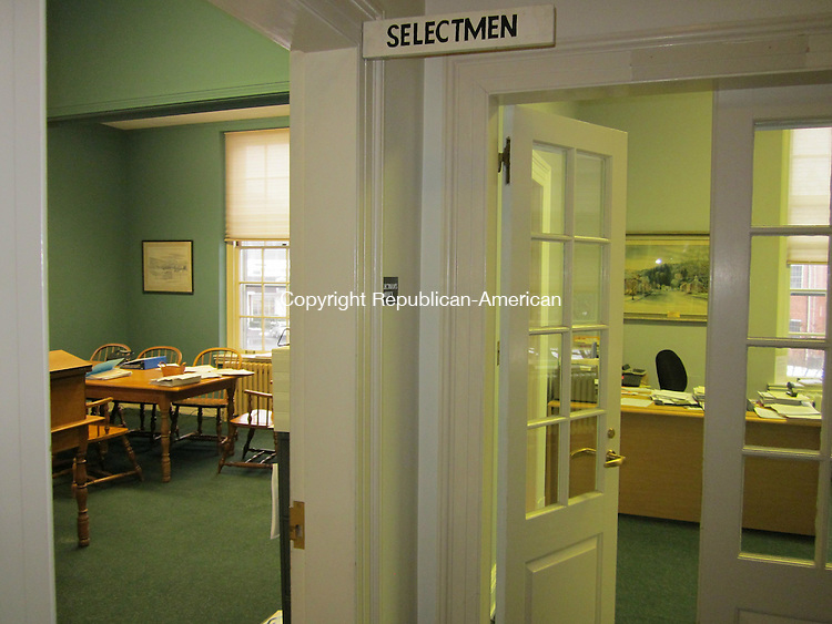 WASHINGTON, CT - 2 March 2012 - 030212RH01 - The selectmen's office in Washington, Conn., has expanded into the adjacent office vacted by the probate office. Rick Harrison Republican-AMerican