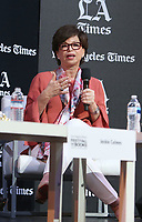 LOS ANGELES, CA -APRIL 13: Valerie Jarrett, at the 2019 Los Angeles Times Festival Of Books at University of Southern California in Los Angeles, California on April 13, 2019.    <br /> CAP/MPI/SAD<br /> &copy;SAD/MPI/Capital Pictures