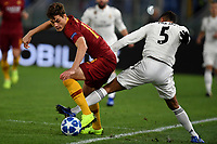 Patrik Schick of AS Roma and Raphael Varane of Real Madrid <br />  during the Uefa Champions League 2018/2019 Group G football match between AS Roma and Real Madrid atOlimpico stadium , Rome, November, 27, 2018 <br />  Foto Andrea Staccioli / Insidefoto