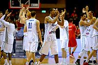 GRONINGEN - Basketbal, Donar - Spirou Basket, Martiniplaza, Europe Cup, seizoen 2018-2019, 20-11-2018, Donar viert de overwinning