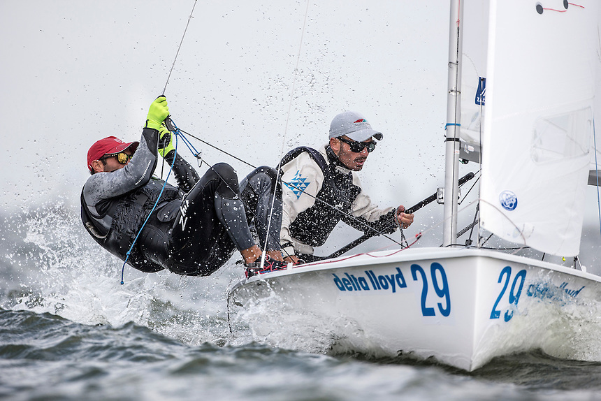 Day two Delta Lloyd Regatta  2015 (26/30 May 2015). Medemblik - the Netherlands.