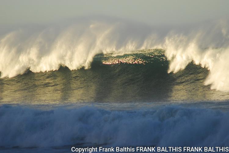 Big surf at Waddell Beach