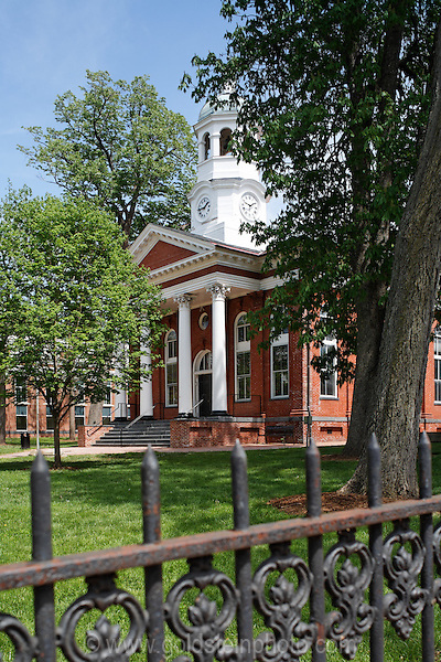 Courthouse in Leesburg, Virginia.