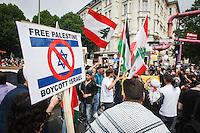 15-07-11 Al-Quds-Marsch & Proteste