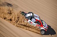 5th January 2020, Jeddah, Saudi Arabia;  310 Alonso Fernando esp, Coma Marc esp, Toyota Hilux, Toyota Gazoo Ragin during Stage 1 of the Dakar 2020 between Jeddah and Al Wajh, 752 km - Editorial Use