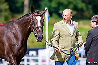 AUS-Bill Levett with Mighty Tara during the CCI1* First Horse Inspection. 2017 GBR-Blair Castle International Horse Trial.  Blair Atholl. Scotland. Wednesday 23 August. Copyright Photo: Libby Law Photography